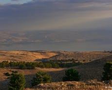 נוף עוצר נשימה לכנרת - וילה טרויה
