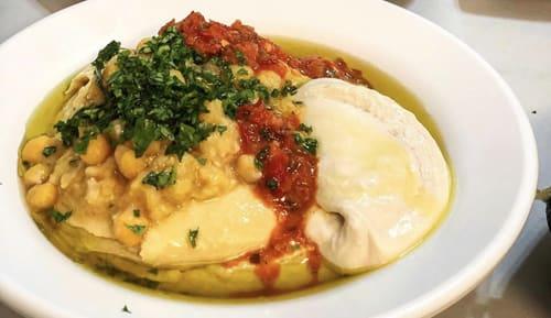 חומוס סוהילה מסעדה בעכו העתיקה