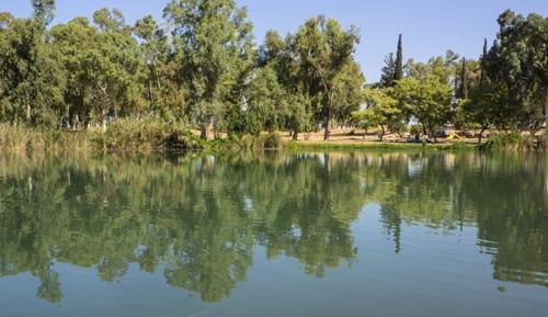 גן לאומי תל אפק האגם