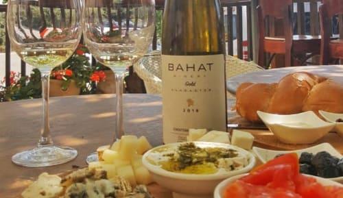 יקב בהט - ניתן להנות מטעימות אוכל לצד היין בתיאום ותשלום נוסף