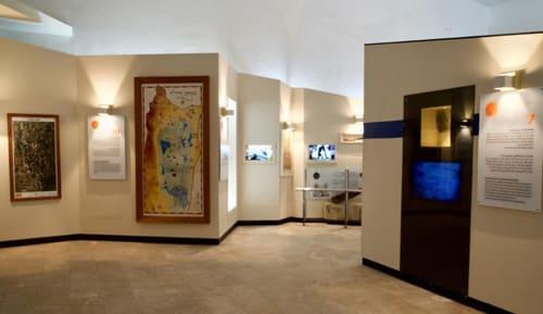 מוזיאון בית אוסישקין בקיבוץ דן - פנים המוזיאון